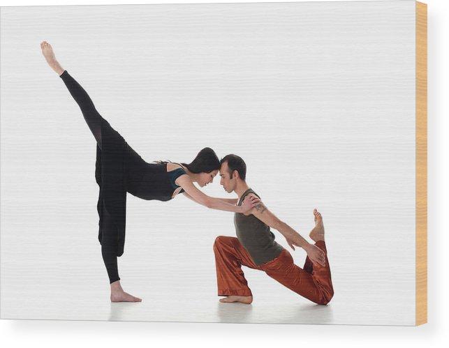 Ballet Dancer Wood Print featuring the photograph Love Dancing by Kursad