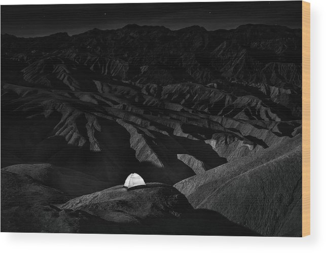 California Wood Print featuring the photograph On The Rock by Simon Chenglu