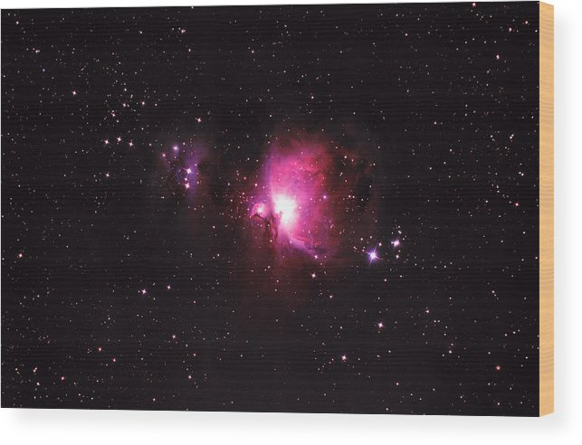 Natural Gas Wood Print featuring the photograph Orion Nebula by Plefevre