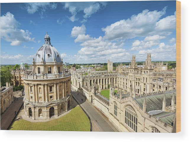 Education Wood Print featuring the photograph Oxford, Uk by Nikada