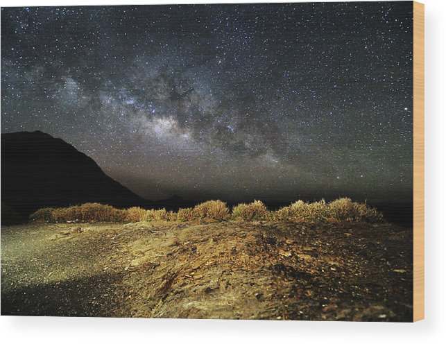 Scenics Wood Print featuring the photograph Space by Copyright Of Eason Lin Ladaga