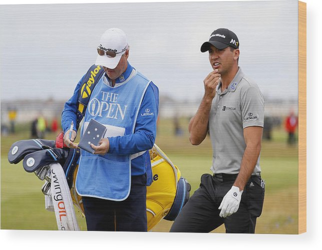 Three Quarter Length Wood Print featuring the photograph 145th Open Championship - Previews by Kevin C. Cox