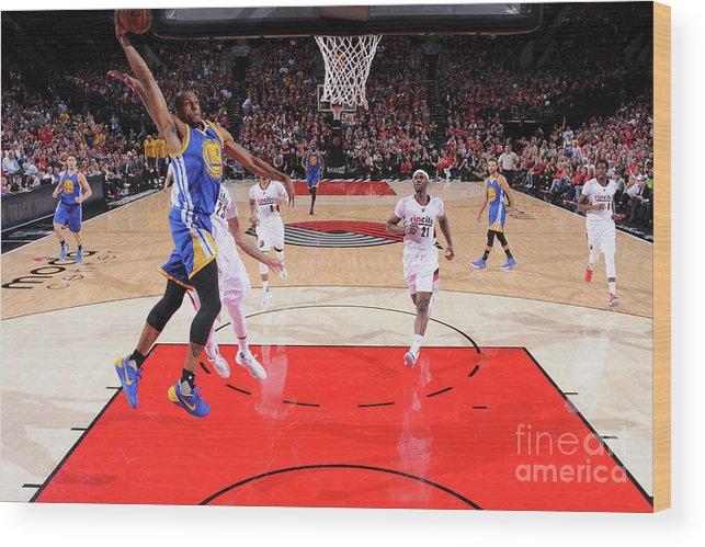 Playoffs Wood Print featuring the photograph Andre Iguodala by Sam Forencich