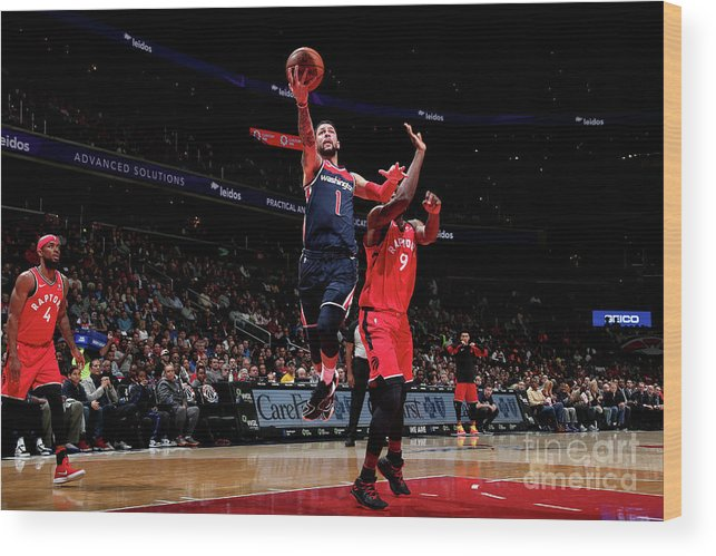 Nba Pro Basketball Wood Print featuring the photograph Austin Rivers by Ned Dishman
