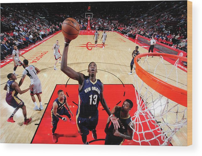 Nba Pro Basketball Wood Print featuring the photograph Cheick Diallo by Bill Baptist