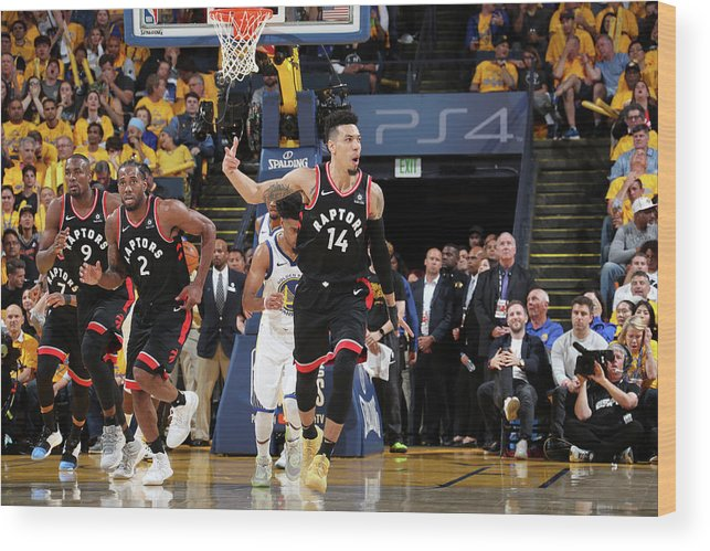 Playoffs Wood Print featuring the photograph Danny Green by Nathaniel S. Butler