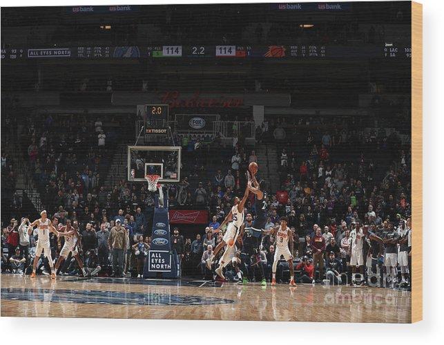 Nba Pro Basketball Wood Print featuring the photograph Derrick Rose by Jordan Johnson