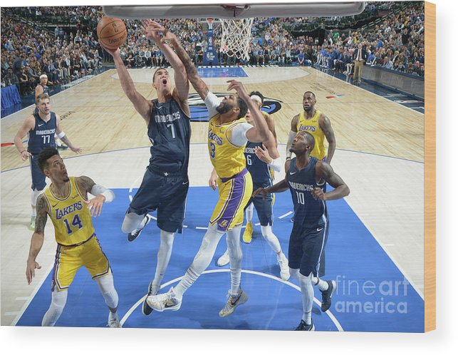 Dwight Powell Wood Print featuring the photograph Dwight Powell by Glenn James