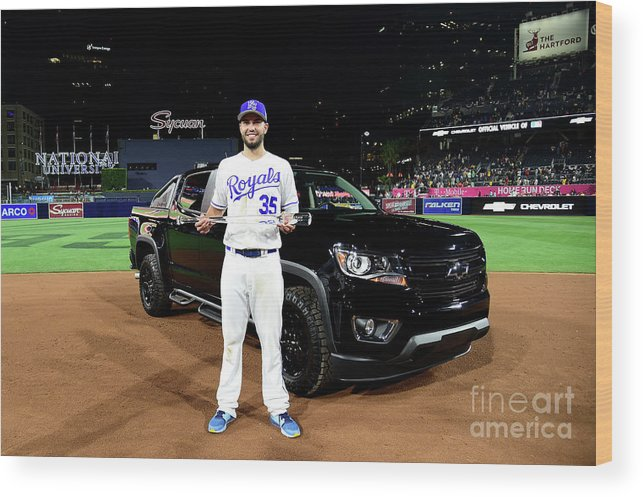 People Wood Print featuring the photograph Eric Hosmer by Harry How