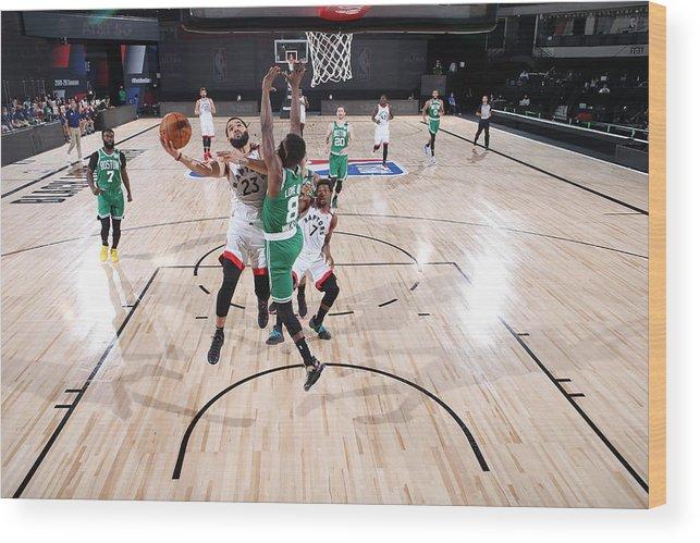 Nba Pro Basketball Wood Print featuring the photograph Fred Vanvleet by David Sherman