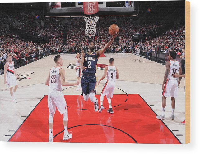 Playoffs Wood Print featuring the photograph Ian Clark by Sam Forencich
