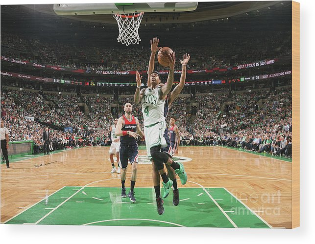 Playoffs Wood Print featuring the photograph Isaiah Thomas by Ned Dishman