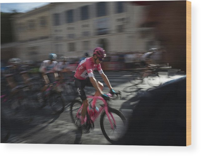 People Wood Print featuring the photograph Italian Daily News - May by Antonio Masiello