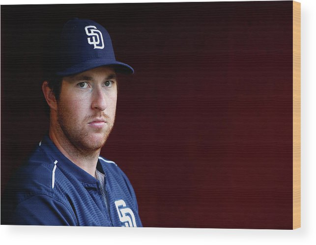 People Wood Print featuring the photograph Jedd Gyorko by Christian Petersen