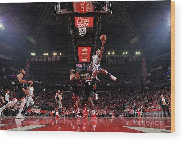 Playoffs Wood Print featuring the photograph Jeff Teague by Bill Baptist
