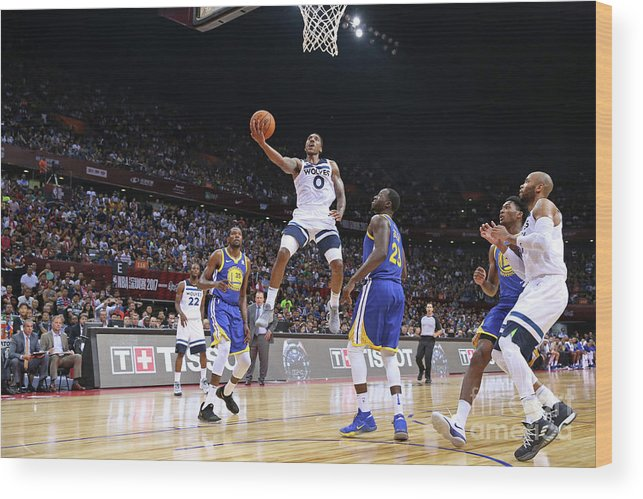 Event Wood Print featuring the photograph Jeff Teague by David Sherman