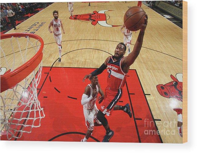Nba Pro Basketball Wood Print featuring the photograph John Wall by Gary Dineen