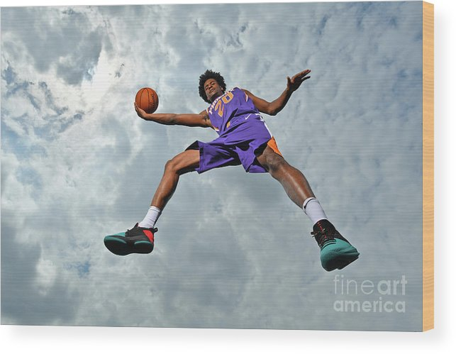 Nba Pro Basketball Wood Print featuring the photograph Josh Jackson by Jesse D. Garrabrant