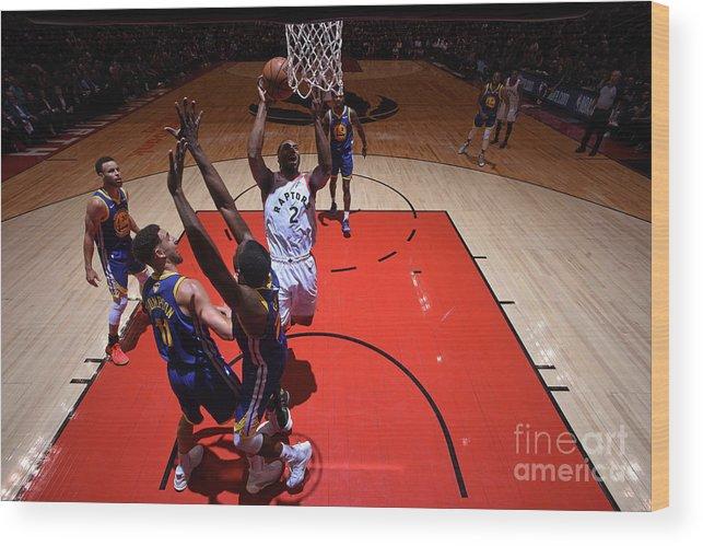 Playoffs Wood Print featuring the photograph Kawhi Leonard by Garrett Ellwood