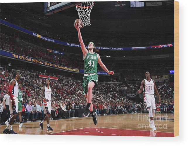 Playoffs Wood Print featuring the photograph Kelly Olynyk by Brian Babineau