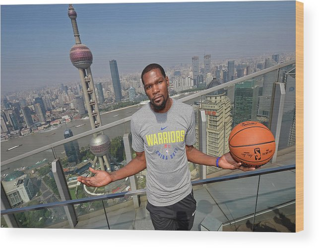 Event Wood Print featuring the photograph Kevin Durant by David Dow