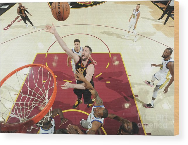 Playoffs Wood Print featuring the photograph Kevin Love by Andrew D. Bernstein