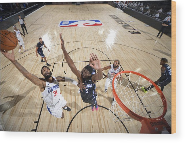 Nba Pro Basketball Wood Print featuring the photograph Marcus Morris by Jesse D. Garrabrant