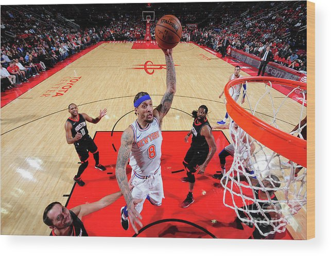 Michael Beasley Wood Print featuring the photograph Michael Beasley by Bill Baptist