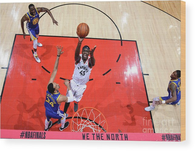 Playoffs Wood Print featuring the photograph Pascal Siakam by Jesse D. Garrabrant