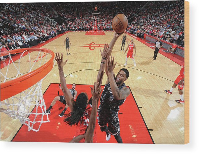 Nba Pro Basketball Wood Print featuring the photograph Rudy Gay by Bill Baptist