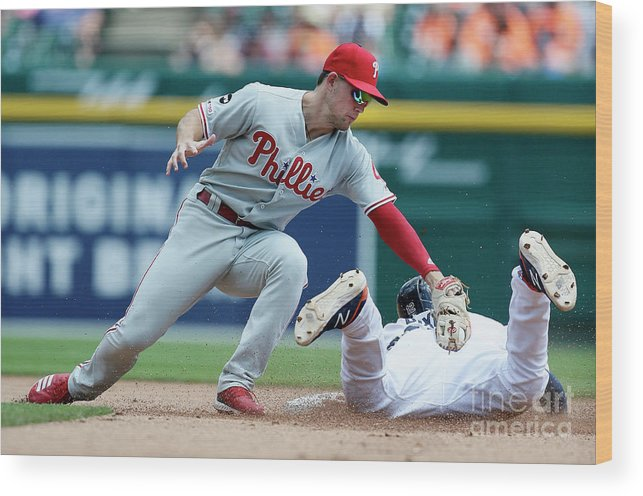 People Wood Print featuring the photograph Scott Kingery by Duane Burleson