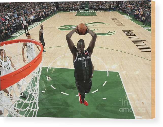 Playoffs Wood Print featuring the photograph Thon Maker by Gary Dineen