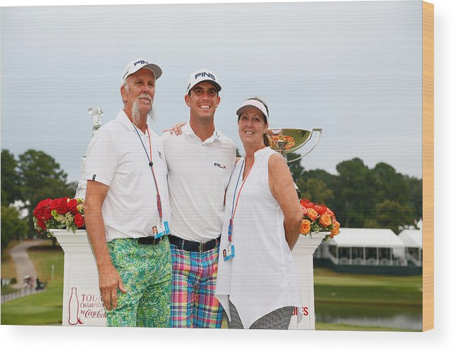Atlanta Wood Print featuring the photograph TOUR Championship by Coca-Cola - Final Round by Kevin C. Cox