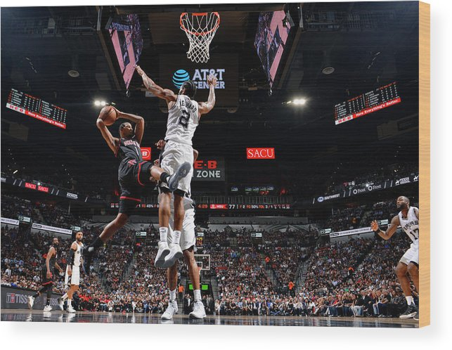 Playoffs Wood Print featuring the photograph Trevor Ariza by Jesse D. Garrabrant