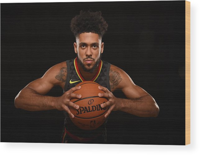 Nba Pro Basketball Wood Print featuring the photograph Tyler Dorsey by Brian Babineau