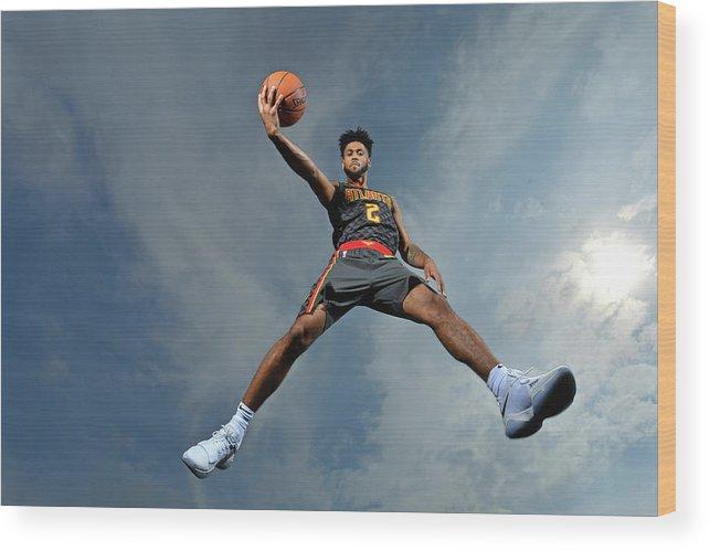 Nba Pro Basketball Wood Print featuring the photograph Tyler Dorsey by Jesse D. Garrabrant