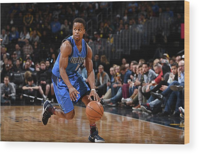 Nba Pro Basketball Wood Print featuring the photograph Yogi Ferrell by Garrett Ellwood