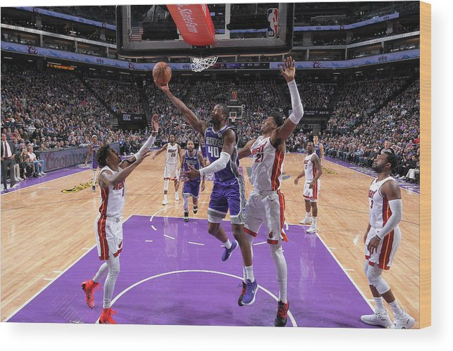 Nba Pro Basketball Wood Print featuring the photograph Harrison Barnes by Rocky Widner