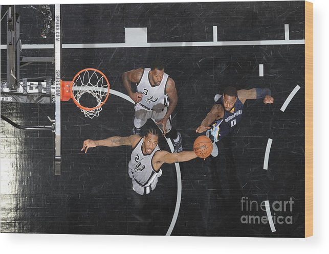 Playoffs Wood Print featuring the photograph Kawhi Leonard by Mark Sobhani