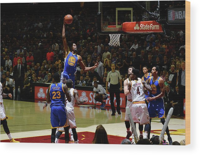 Playoffs Wood Print featuring the photograph Kevin Durant by Jesse D. Garrabrant