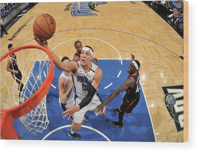 Playoffs Wood Print featuring the photograph Aaron Gordon by Fernando Medina