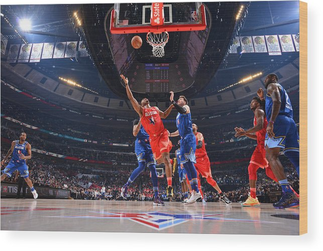 Nba Pro Basketball Wood Print featuring the photograph Kyle Lowry by Jesse D. Garrabrant