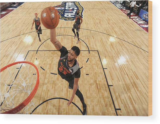 Event Wood Print featuring the photograph Anthony Davis by Andrew D. Bernstein
