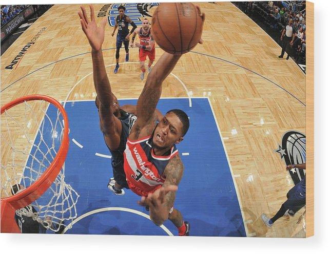 Nba Pro Basketball Wood Print featuring the photograph Bradley Beal by Fernando Medina