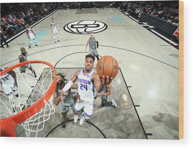 Nba Pro Basketball Wood Print featuring the photograph Buddy Hield by Nathaniel S. Butler