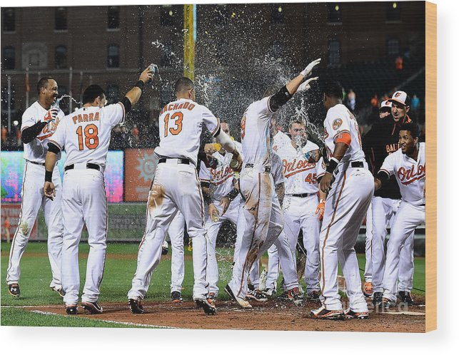 People Wood Print featuring the photograph Chris Davis by Patrick Mcdermott