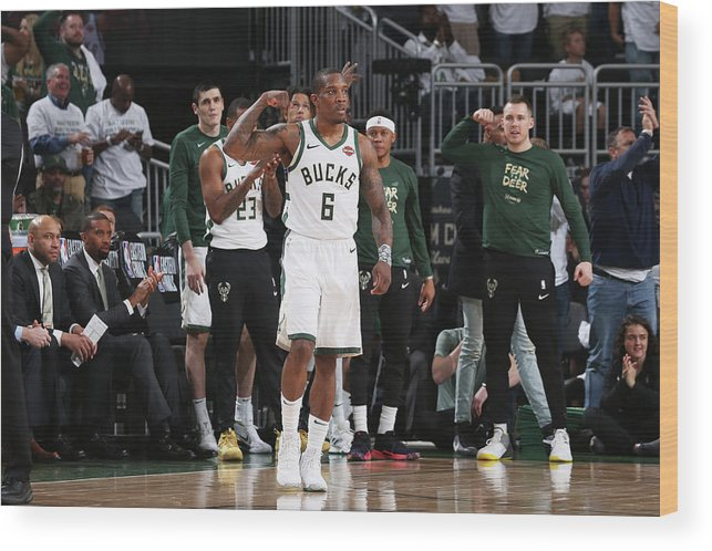 Playoffs Wood Print featuring the photograph Eric Bledsoe by Gary Dineen