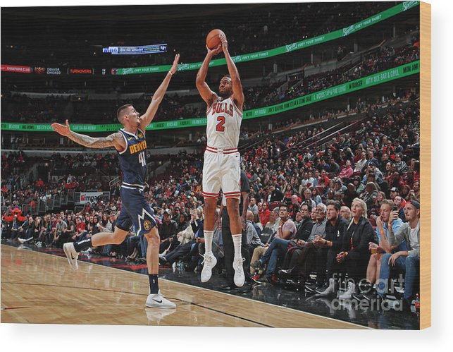 Nba Pro Basketball Wood Print featuring the photograph Jabari Parker by Jeff Haynes