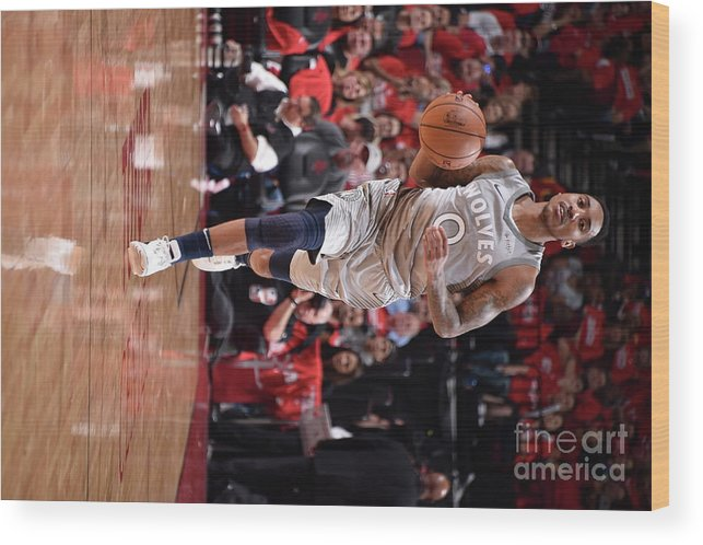 Playoffs Wood Print featuring the photograph Jeff Teague by Bill Baptist