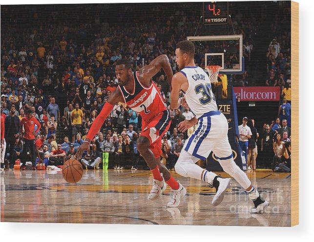 Nba Pro Basketball Wood Print featuring the photograph John Wall by Noah Graham